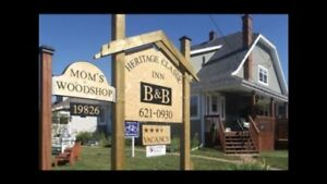 Bed & Breakfast 15 km from Cavendish/Charlottetown