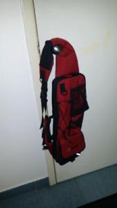 Fishing bag for bikers.