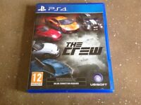 Sony PS4 game the crew