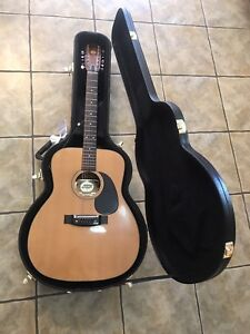 Aspen 12 string guitar with hard case for sale