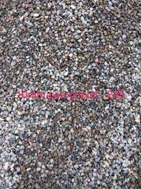 Various decorative stones/chips