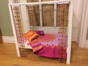 American girl doll Julie's Bed