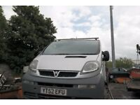 VIVARO van for sell spares or repair 1.9 dci