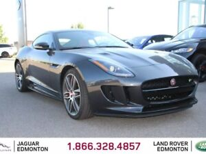 2016 Jaguar F-TYPE R AWD - CPO 6yr/160000kms manufacturer warran