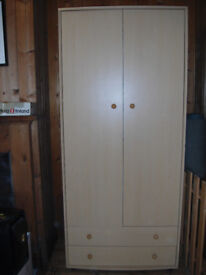 Wardrobe and Maching Chest of Drawers