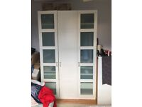 Reduced price: ikea Pax top of the range Wardrobe (priced to sell)