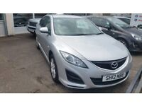 MAZDA 6 2012 SILVER TS 1.8 PETROL 5 DOOR ONLY 48,000 MILES **FINANCE AVAILABLE**