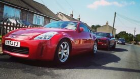 Nissan 350z gt uk *rare red*