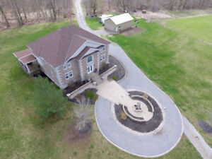 Energy efficient country retreat on an a 30-acre lot!