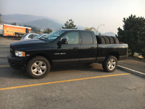 """2005 Dodge Ram 1500 20"""" rims with nitto terra grapplers"""