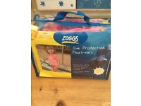 Zoggs swimsuit stage 2 pink 1-2yrs