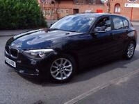 2012 BMW 1 SERIES 116D 1.6 DIESEL EFFICIENT DYNAMICS, MILEAGE 57000, MOT 12 MONTHS