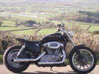 Harley Davidson Sportster Flatracker/Brat Style