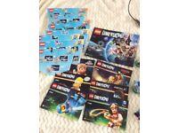 Lego dimensions joblot Xbox 360