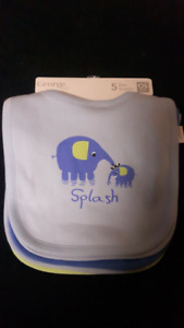 Boy bibs- brand new with tags