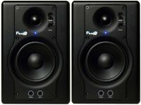 Fluid audio, fader series f4 monitors