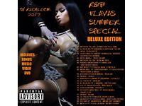 DJ RICHI R&B FLAVAS SUMMER SPECIAL DELUXE Mixtape CD/DVD Drake Nicki Minaj