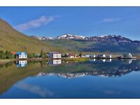 Looking for waiting staff in the most beautiful fjord in Iceland