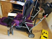 Double Buggy - Joovy Caboose Ultralight