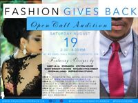 FASHION GIVES BACK-Open Call Audition