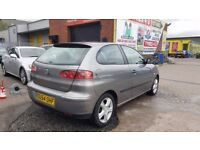*TRADE IN TO CLEAR* SEAT IBIZA SX 1.4 (2004) - 3 DOOR HATCH - NO MOT - HPI CLEAR!