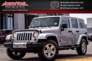 2012 Jeep WRANGLER UNLIMITED Sahara|4X4|Nav.|LthrSeats|HtdFrntSe