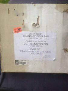 new crhome th-350 transmission oil pan