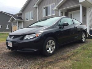LEASE TAKE OVER FOR 12 MONTHS - 2013 Honda Civic LX