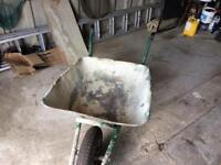 Builders wheelbarrow