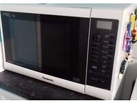 Large White Panasonic microwave / oven/grill