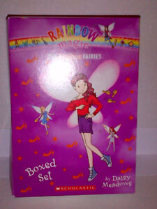 "Rainbow Fairy ""The Fashion Fairies Collection"" Set of 7 Books!!"