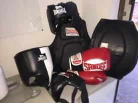 Boxing gear job lot (reduced price)