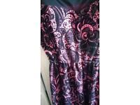 Velvet quiz dress never worn