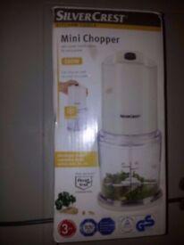 SILVERCREST MINI CHOPPER AS NEW IN BOX ONLY £2