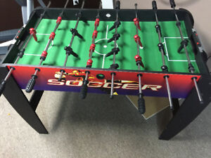 FOOZBALL TABLE. Pick up today
