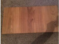 Solid pieces of oak for chopping boards