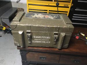 World War 2 German - Italian Ammo box