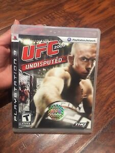 UFC game for the PS3