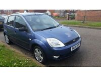 Ford fiast 1.4 diesel HDI tubo service history mot 10/ 02/ 18 manual cheap on tax £30 year