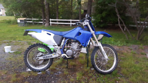 2002 YZ250F with papers