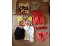 All Saints Bundle/Job Lot size 6-10 (incl dresses, t-shirt, shirt)