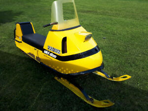 Vintage Bombardier Skidoo Super Olympics for sale