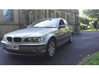 2004 BMW 318 AUTOMATIC LONG MOT FULL LEATHER FULL ELECTRIC KIT LOVELY INSIDE AND OUT