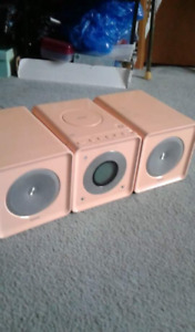 Philips Pink Stereo System