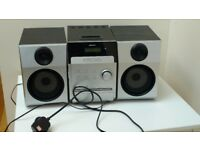 Bush radio CD player with two speakers, vgc