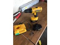 dewalt cordless drill 14v