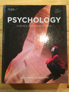 PSYC 1200: Themes & Variations 3rd Edition