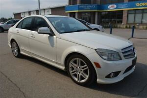 2008 Mercedes-Benz C-Class 350/HEATED LEATHER SEATS/SUNROOF/ALLO