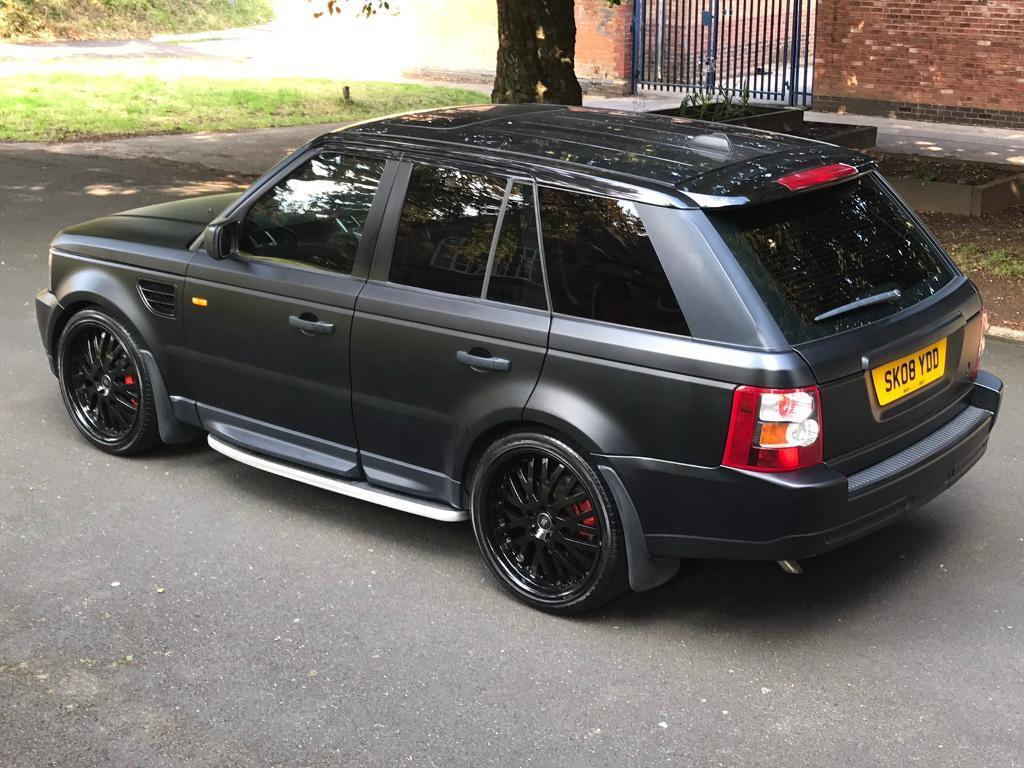 Range Rover 2.7 SPORT HPI CLEAR FULL SERVICE!! BEAUTIFUL MAT BLACK WRAPPED