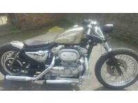 One off custom harley sporster 883